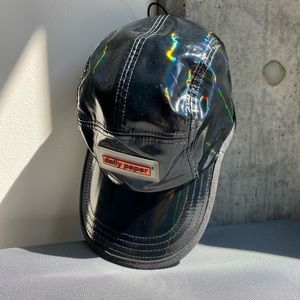 Daily Paper cap , patent fabric and adjustable
